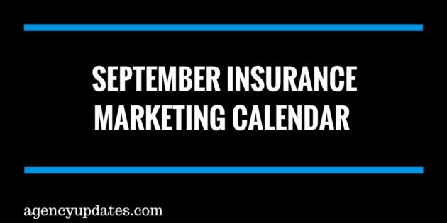 september insurance marketing calendar