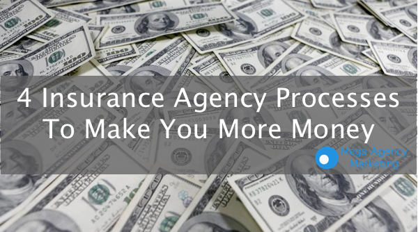 insurance agency processes money