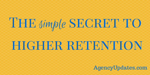 The simple secret to higher retention