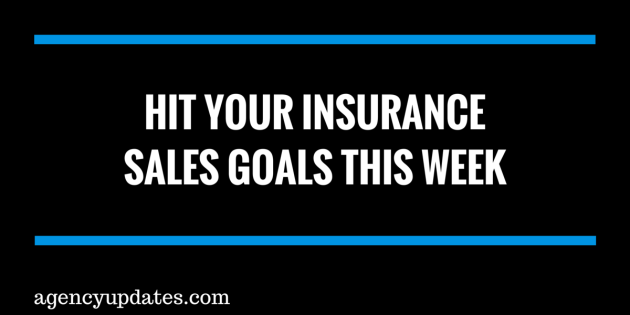 Hit Your Insurance Sales Goals