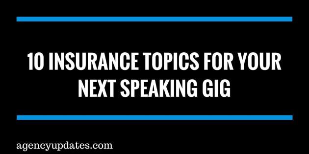 insurance topics