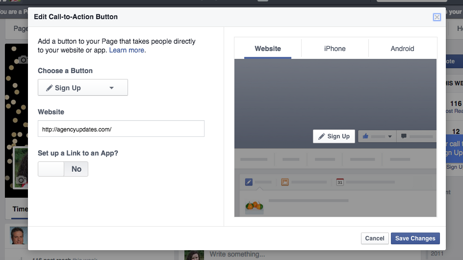 Facebook Call To Action 3