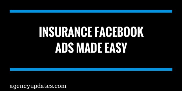 insurance facebook ads made easy