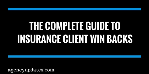 insurance client win backs