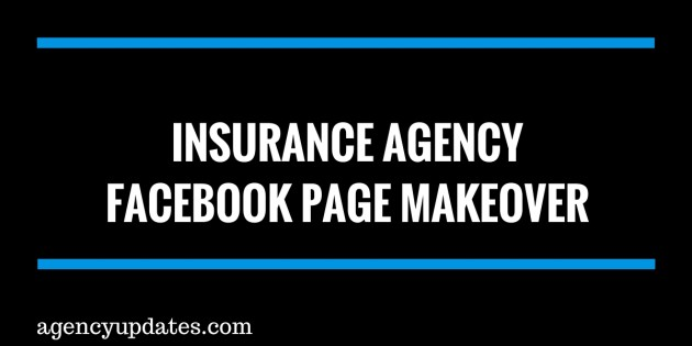 insurance facebook page makeover
