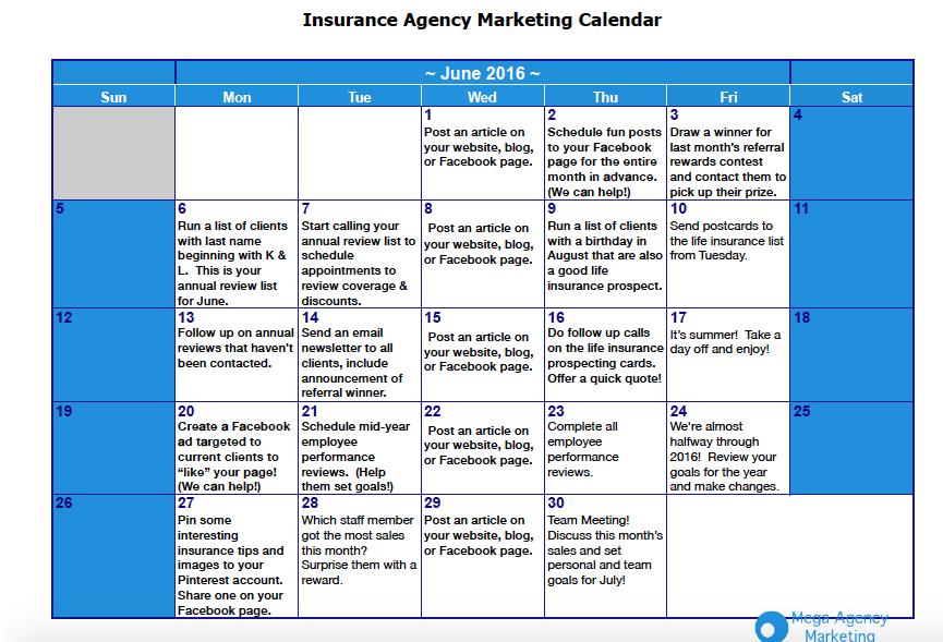 insurance agency marketing plan pdf
