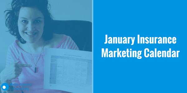 January Insurance Marketing Calendar