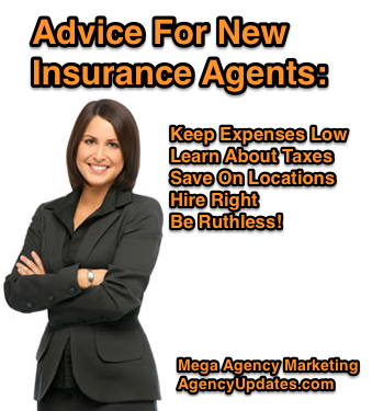 Advice For New Insurance Agents - Keep Expenses Low ...